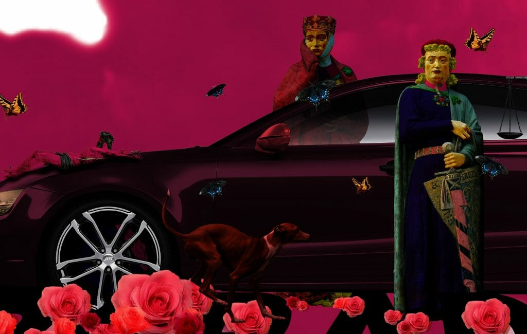 contemporary art print digital collage fulop gergo composition2 hungary budapest