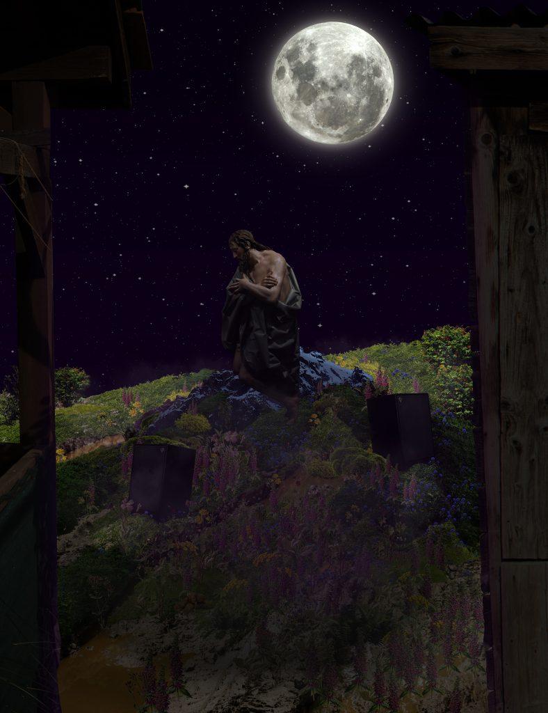 meadow backyard speakers gergo fulop contemorary art artist moon neofolk indepepndent outsider budapest hungary