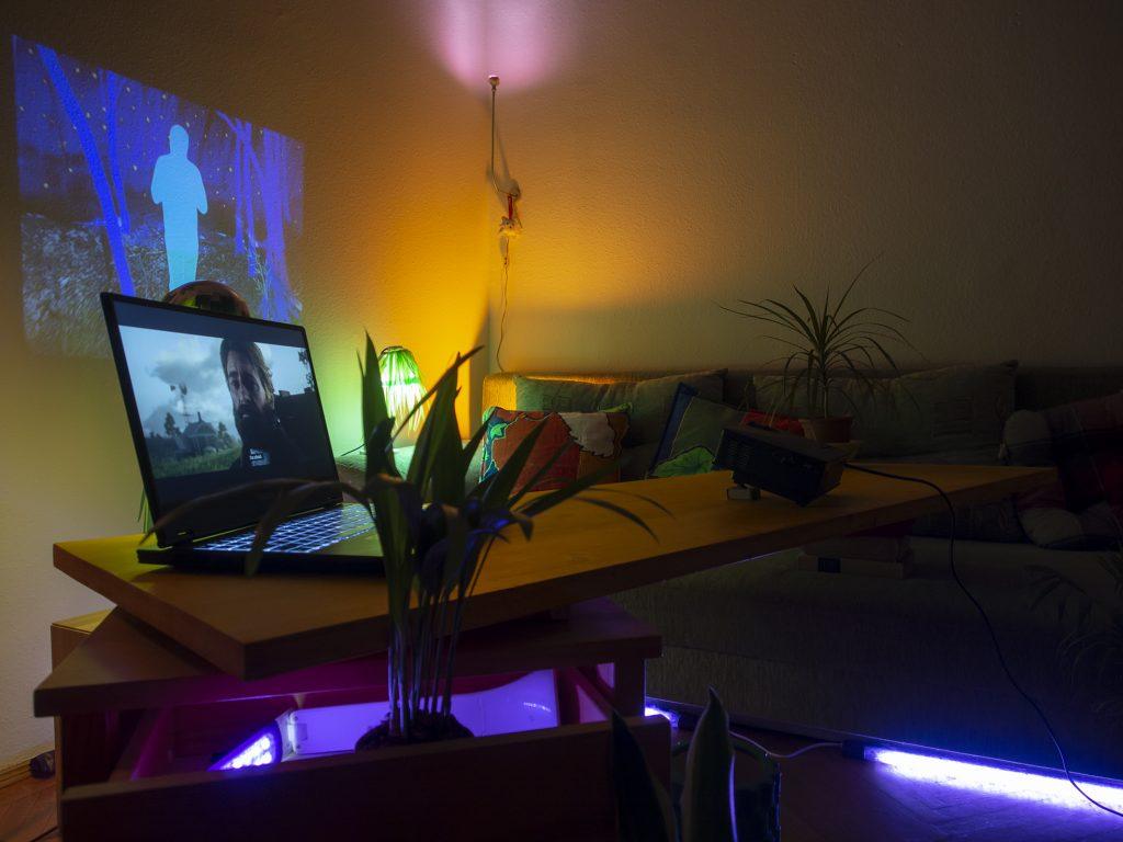 lamp grove gergo fulop artist environment installation kavics attachment contemporary art underground independent budapest